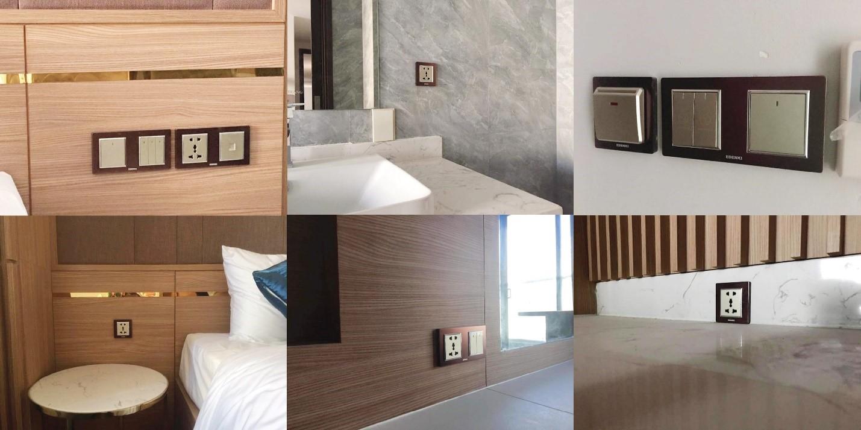 khách sạn Virgo Nha Trang - thiết bị điện Edenki