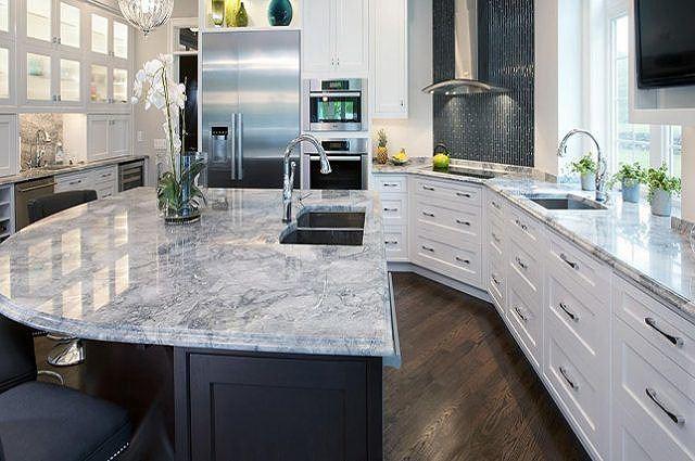 Mặt bàn bếp đá hoa cương granite giá thành rẻ hơn (nguồn: decoraid)
