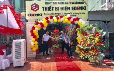 Tưng bừng khai trương Công ty TNHH Thương mại Edenki Hải Phòng và Showroom thiết bị điện Edenki